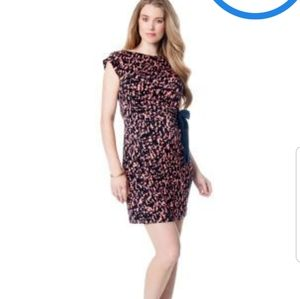 A PEA IN THE POD Taylor side tie dress.